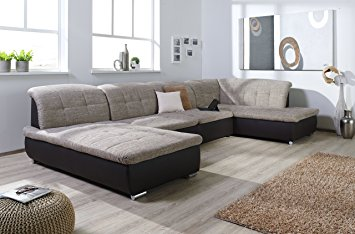 Hoeksalon fabrice seats4you for Couch u form 3m