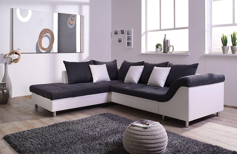 hoekbank-dezi-stof-zwart-leder-wit