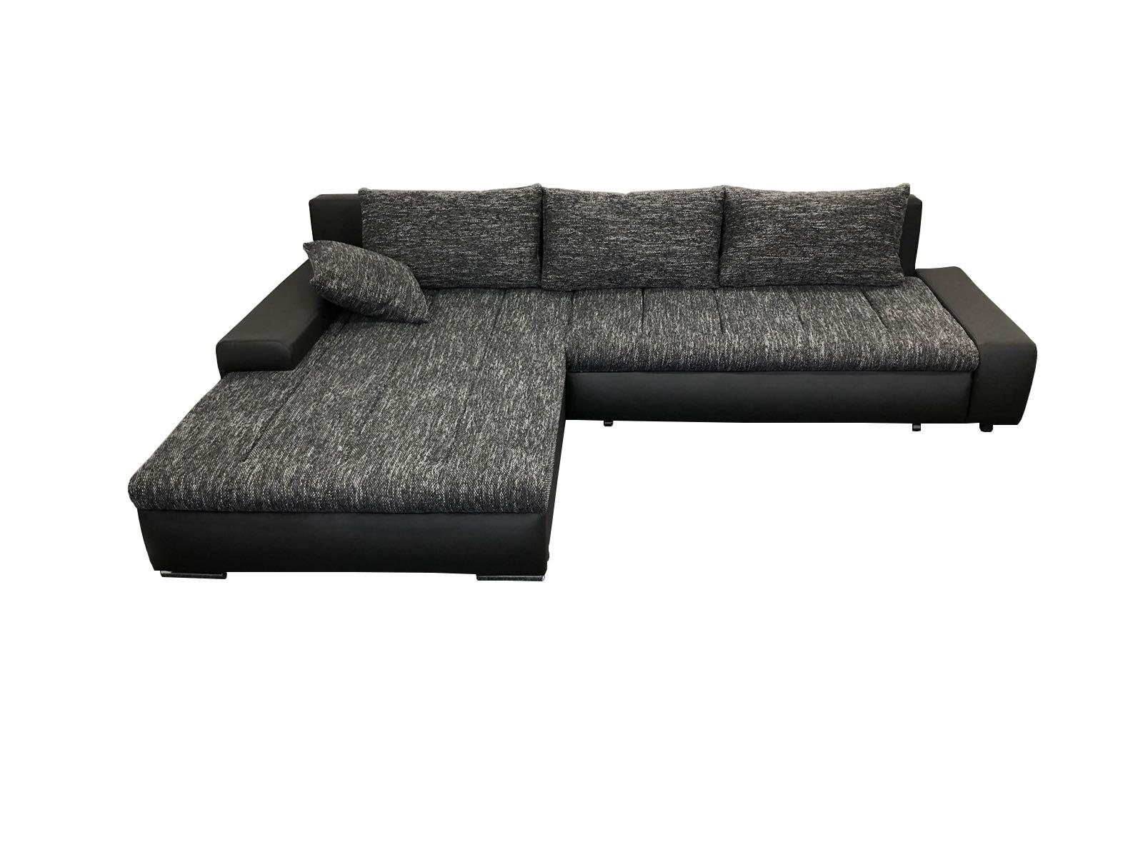 foto van hoeksalon tivano in zwarte kleur te koop bij seats4you tegen scherpe prijs.