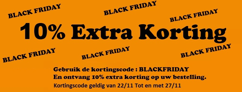 Blackfriday korting
